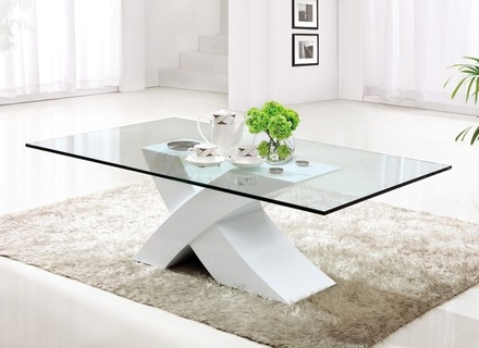 Featured Image of White Wood And Glass Coffee Tables