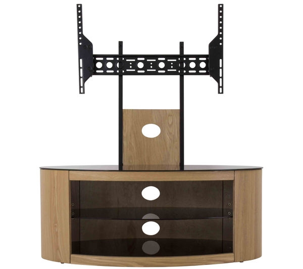 Remarkable Elite Corner TV Stands With Bracket In Buy Avf Buckingham 1000 Tv Stand With Bracket Free Delivery Currys (View 42 of 50)