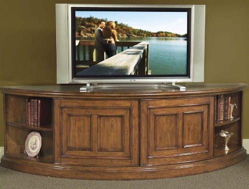 Remarkable Elite Curve TV Stands Regarding Entertainment Centers For Flat Screens Riverside Furniture (View 24 of 50)