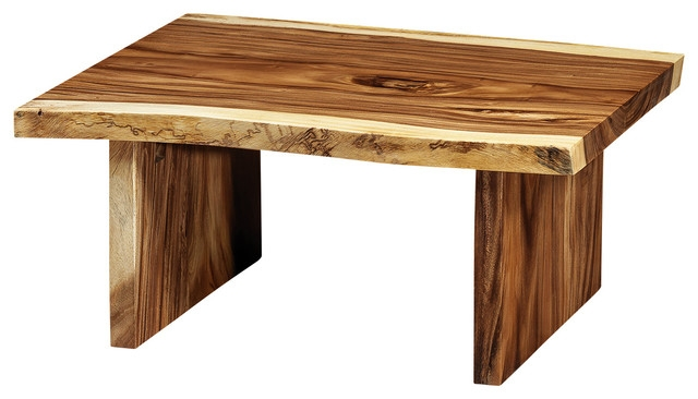 Remarkable Elite Free Form Coffee Tables Regarding Freeform Suar Wood Coffee Table With Wooden Legs Rustic Coffee (Image 29 of 40)