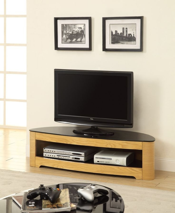 Remarkable Elite Glass And Oak TV Stands For 21 Best Corner Tv Stands Images On Pinterest Corner Tv Stands (Image 36 of 50)