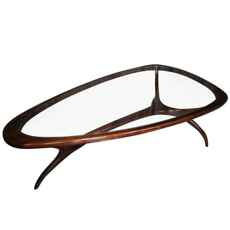 Remarkable Elite Sixties Coffee Tables Intended For 60s Brazilian Coffee Table At 1stdibs (Image 29 of 39)