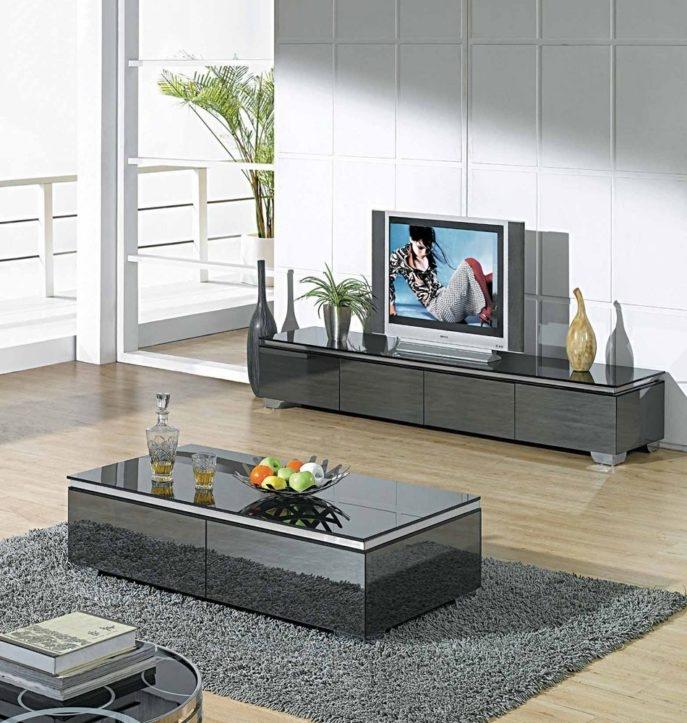 Remarkable Elite TV Stand Coffee Table Sets Intended For Coffee Table Tv Stand Coffee Table Set Furniture Narrow Coffee (View 47 of 50)