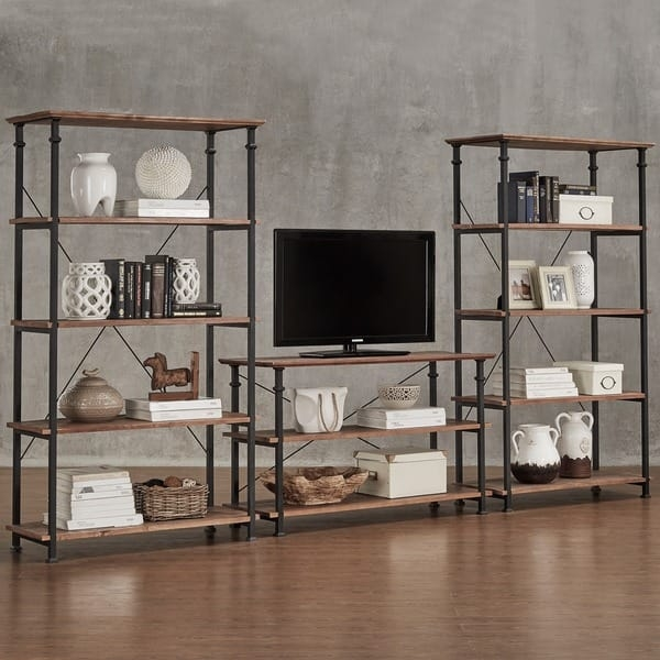 Remarkable Elite Vintage Industrial TV Stands In Myra Ii Vintage Industrial Tv Stand Inspire Q Classic Free (Image 41 of 50)