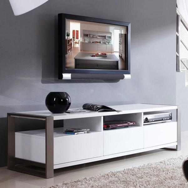 Remarkable Elite White TV Stands For Flat Screens With Tv Stands 2017 Best Assembled White Corner Tv Stands Collection (Image 42 of 50)