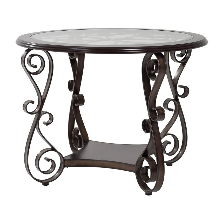 Remarkable Famous Bombay Coffee Tables Regarding Bombay Round Counter Table El Dorado Furniture (Image 36 of 50)
