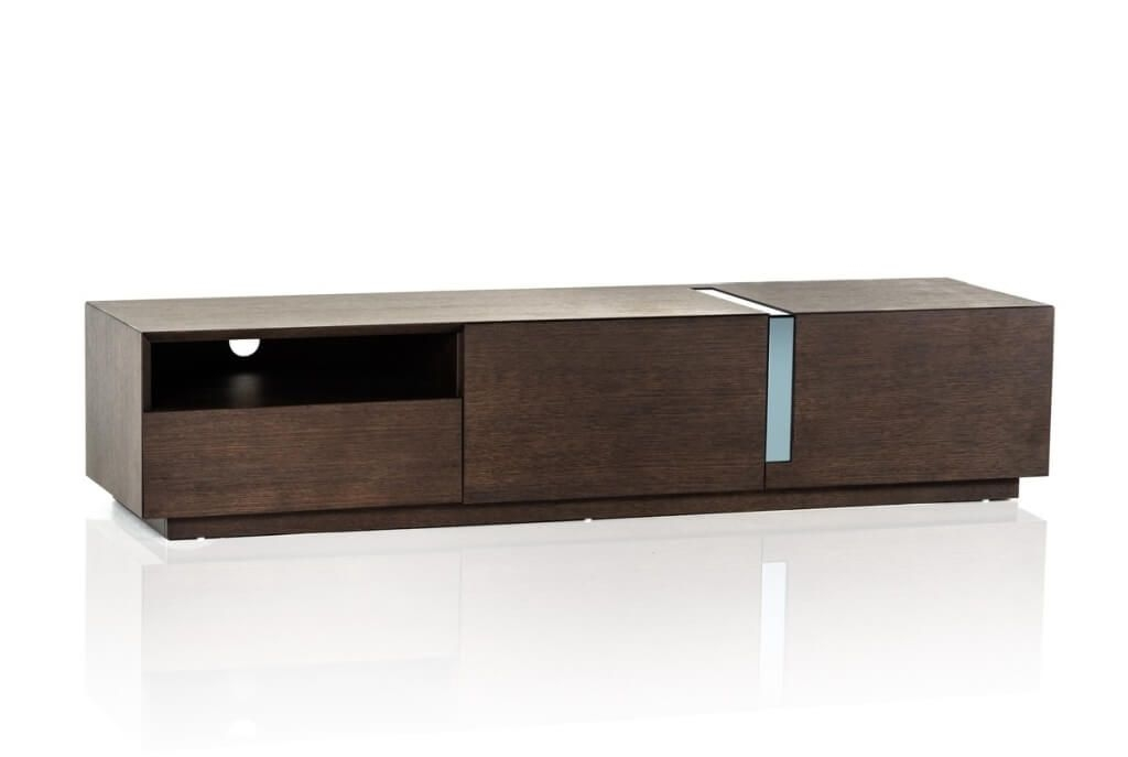 Remarkable Famous Contemporary Wood TV Stands For Furniture Light Wood Black Modern Tv Stands With Hidden Storage (Photo 33 of 50)