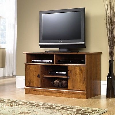 Remarkable Famous Oak TV Stands For Flat Screens Pertaining To Wood Tv Stand Flat Screen Modern Media Console Cabinet (Image 36 of 50)