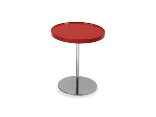 Remarkable Famous Red Round Coffee Tables In Tray Small Round Coffee Table Cs5038 Rd Edi Paolo Ciani (View 22 of 50)