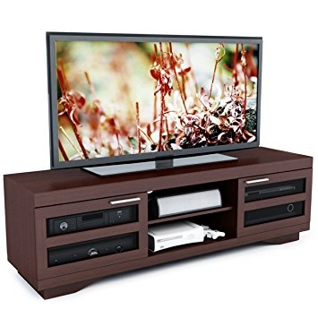 Remarkable Famous Sonax TV Stands With Amazon Sonax B 097 Rgt Granville 66 Inch Warm Cinnamon Wood (View 32 of 50)