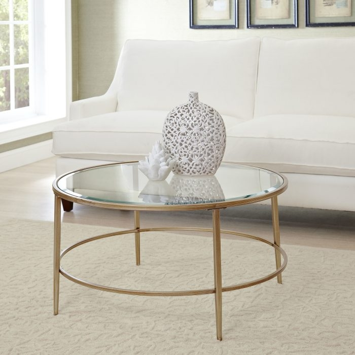 Remarkable Famous Wayfair Glass Coffee Tables Pertaining To Coffee Table Wayfair Glass Coffee Table Within Imposing Round (Image 32 of 40)