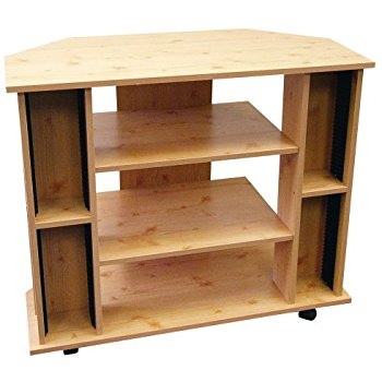 Remarkable Famous Wooden Corner TV Stands In Amazon Winsome Wood Corner Tv Stand Natural Kitchen Dining (View 31 of 50)