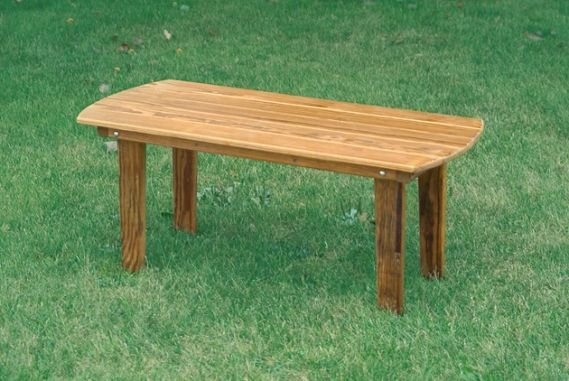 Remarkable Famous Wooden Garden Coffee Tables Regarding Pine Wood English Garden Coffee Table (View 19 of 50)