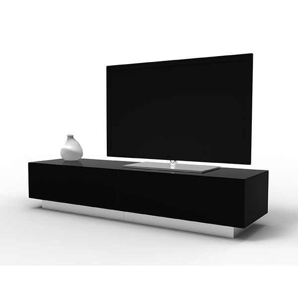 Remarkable Fashionable Black TV Cabinets Pertaining To Best 25 Black Tv Unit Ideas On Pinterest Ikea Tv Table (Image 42 of 50)