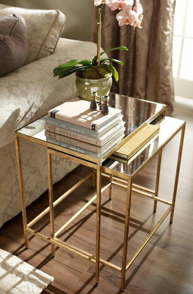 Remarkable Fashionable Coffee Tables And Side Table Sets Regarding Best 25 Nesting Tables Ideas On Pinterest Painted Nesting (Image 43 of 50)