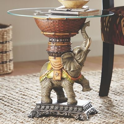 Remarkable Fashionable Elephant Glass Top Coffee Tables Inside 54 Best Exotic Home Accents Images On Pinterest (Image 39 of 50)