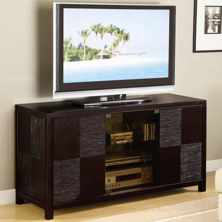 Remarkable Fashionable Enclosed TV Cabinets With Doors Throughout Excellent Polished Wood Enclosed Tv Cabinets For Flat Screens With (Image 36 of 50)