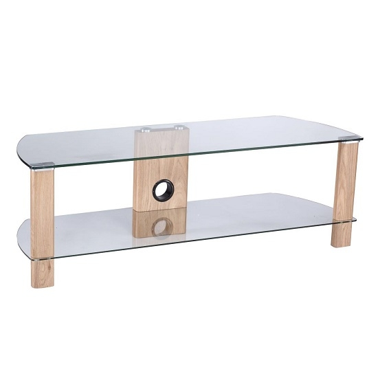 Remarkable Fashionable Glass And Oak TV Stands Pertaining To Oak Tv Stand Find It For Less (Image 37 of 50)