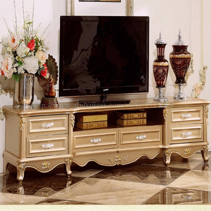 Remarkable Fashionable Gold TV Cabinets In Living Room Black And Gold French Tv Cabinet Pictures Decorations (Image 37 of 50)