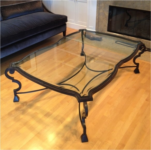 Remarkable Fashionable Iron Glass Coffee Table Pertaining To 89 Best Wrought Iron Tables Images On Pinterest Wrought Iron (Image 42 of 50)