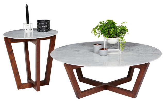 Remarkable Fashionable Marble Round Coffee Tables Intended For Marble Coffee Table Round (View 28 of 50)