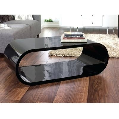 Remarkable Fashionable Oval Gloss Coffee Tables Within Coffee Table Oval Gloss Coffee Table Blackaura Black Glass White (Image 29 of 40)