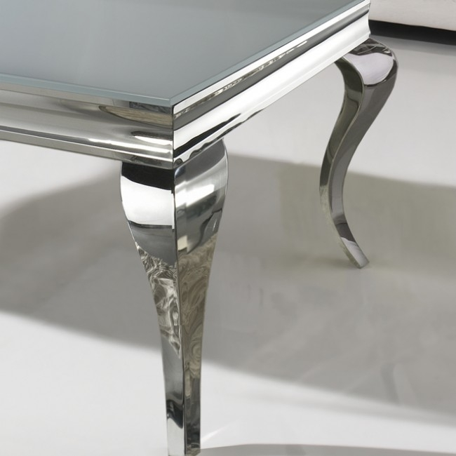 Remarkable Fashionable White And Chrome Coffee Tables With Chrome Coffee Table (Image 40 of 50)