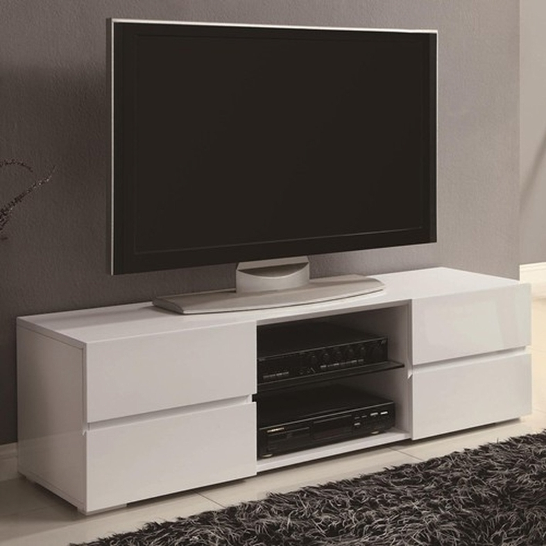 Remarkable Fashionable White Glass TV Stands Regarding White Wood Tv Stand Steal A Sofa Furniture Outlet Los Angeles Ca (Image 42 of 50)