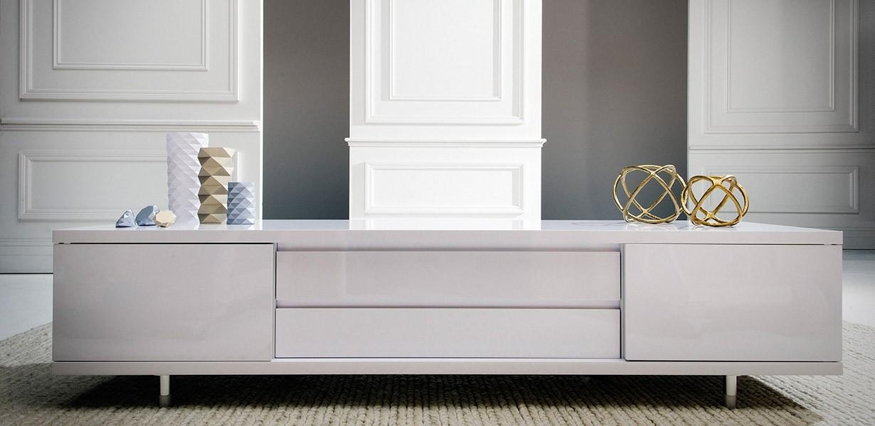 Remarkable Fashionable White Gloss TV Cabinets Throughout Tv Entertainment Units Nick Scali Furniture (Image 37 of 50)