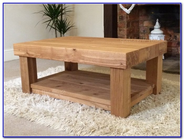 Remarkable Favorite Cheap Oak Coffee Tables Throughout Solid Wood Coffee Tables Uk Coffee Table Home Furniture Ideas (View 47 of 50)