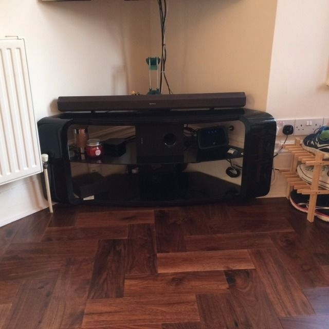 Remarkable Favorite Como TV Stands Throughout Avf Como Tv Stand For Tvs Up To 55 Gloss Black In Earls Court (Image 38 of 50)