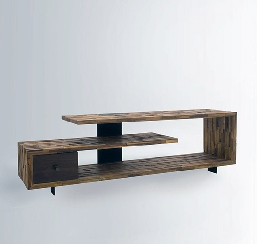 Remarkable Favorite Contemporary Wood TV Stands With Regard To 35 Supurb Reclaimed Wood Tv Stands Media Consoles (Photo 20 of 50)