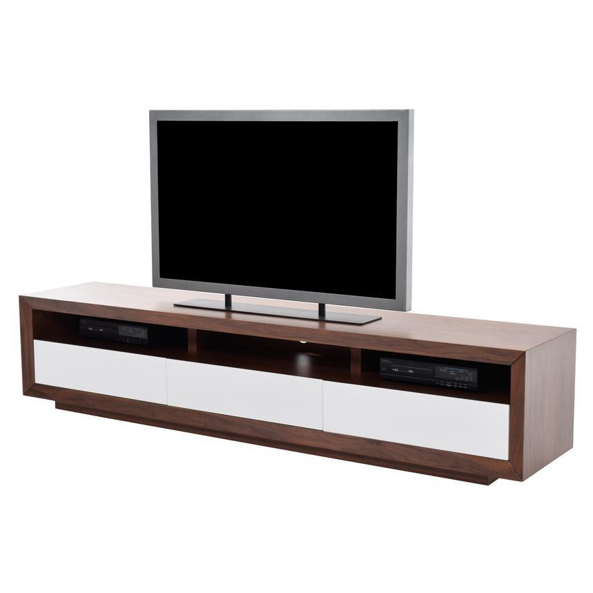 Remarkable Favorite Rectangular TV Stands In Contour Walnut Tv Stand El Dorado Furniture (Image 39 of 50)
