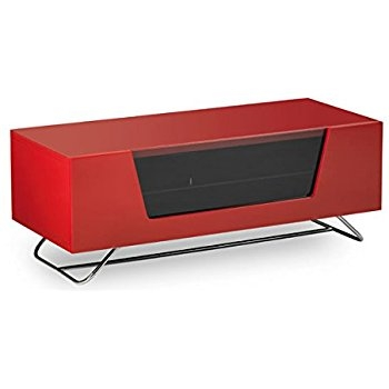 Remarkable Favorite Red TV Stands With Regard To Ovid Ov95r Lcd Plasma Tv Stand Up To 50 Gloss Red Amazon (Image 39 of 50)