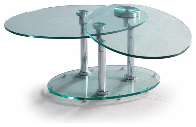 Remarkable Favorite Revolving Glass Coffee Tables Regarding Rotating Glass Coffee Table Amazing Home Design (Image 33 of 40)