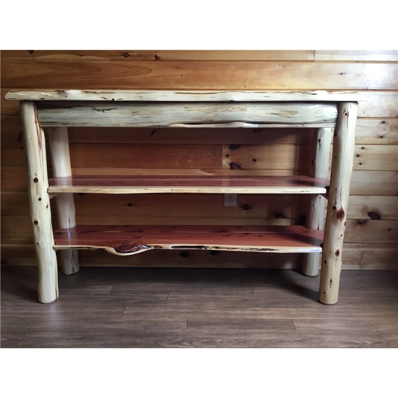 Remarkable Favorite Rustic Red TV Stands With Tv Stand Console Table (Image 37 of 50)