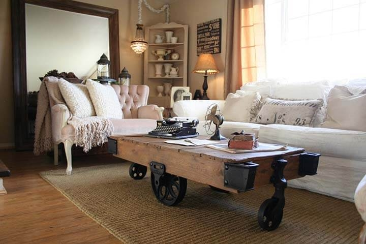 Remarkable Favorite Rustic Style Coffee Tables Inside Creative Rustic Style Coffee Tables Made With Hardwood Proper Home (View 37 of 50)