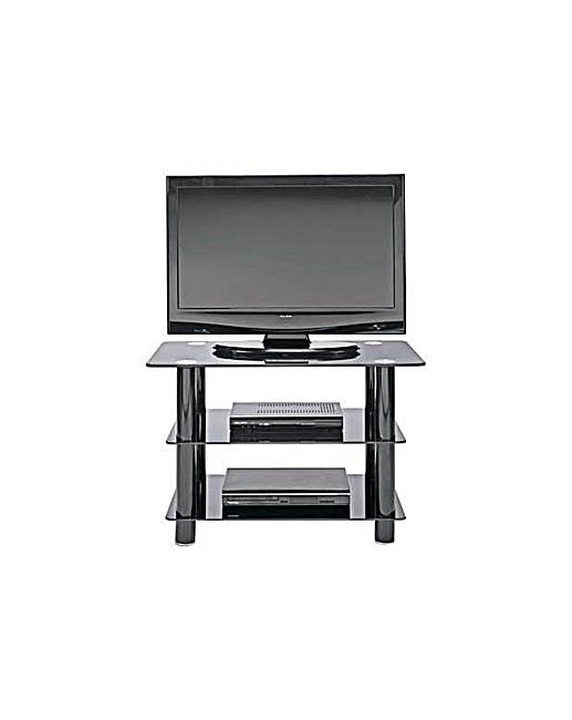 Remarkable Favorite Slimline TV Stands Inside Black Glass 32 Inch Slimline Tv Stand Home Beauty Gift Shop (View 45 of 50)
