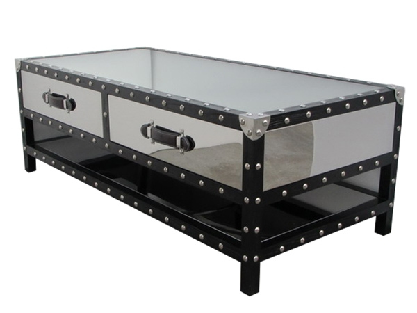 Remarkable Favorite Stainless Steel Trunk Coffee Tables For Black Trunk Coffee Table (View 3 of 50)