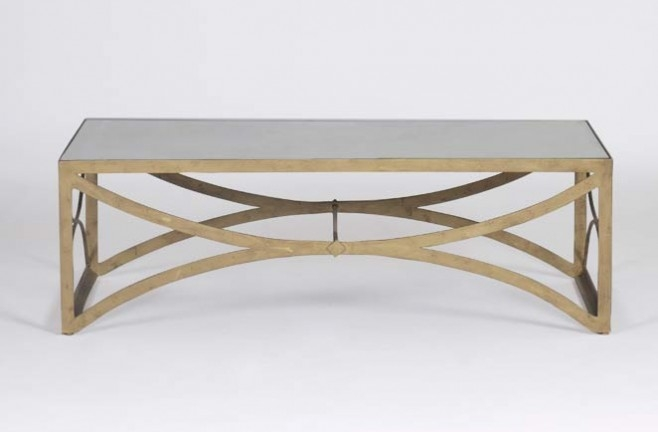 Remarkable High Quality Antique Mirrored Coffee Tables Regarding Bernard Antique Mirror Coffee Table Gab (View 2 of 40)