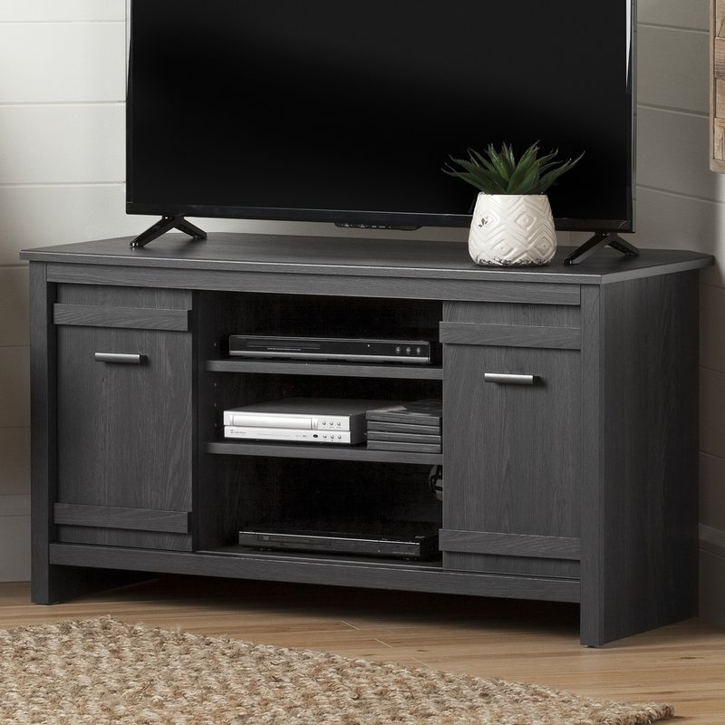 Remarkable High Quality Corner Oak TV Stands For Flat Screen Intended For Shop 148 Corner Tv Stands (Image 37 of 50)