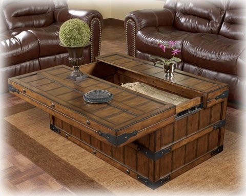 Remarkable High Quality Dark Wood Chest Coffee Tables Within Top 25 Best Rustic Coffee Table Sets Ideas On Pinterest (View 42 of 50)