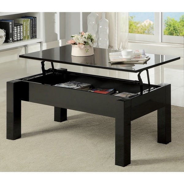 Remarkable High Quality Lift Top Coffee Table Furniture Inside Furniture Of America Desmonte Bold Lift Top Coffee Table Free (View 32 of 50)