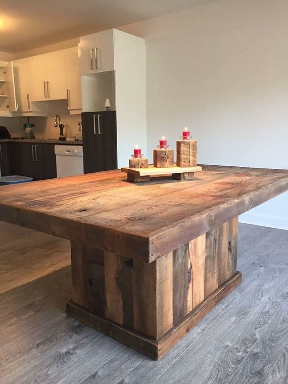 Remarkable High Quality Rustic Wood DIY Coffee Tables Regarding Best 25 Barn Wood Furniture Ideas On Pinterest Outdoor Bar (Image 41 of 50)