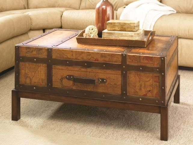 Remarkable High Quality Trunk Chest Coffee Tables With Regard To Coffee Table Storage Trunk Coffee Tables Trunk Coffee Tables As (View 15 of 50)