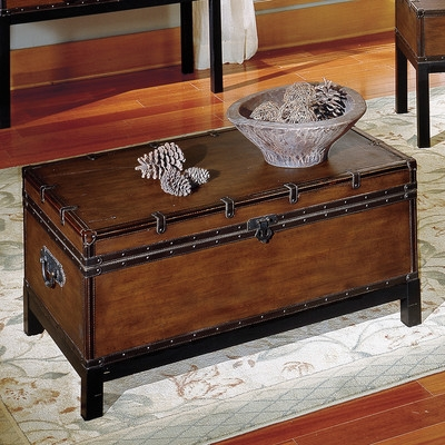Remarkable High Quality Trunk Coffee Tables Throughout Alcott Hill Glenway Trunk Coffee Table Trunk Reviews Wayfair (View 41 of 50)