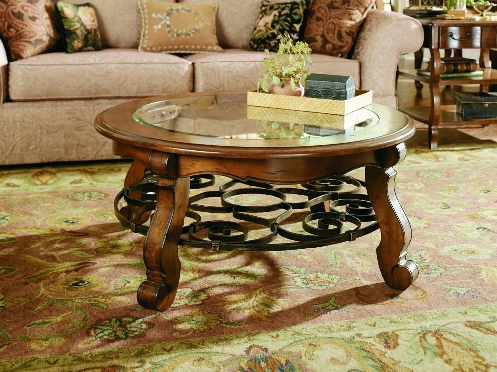 Remarkable High Quality Wrought Iron Coffee Tables Pertaining To Wrought Iron Coffee Table Porch Living Room (Image 41 of 50)