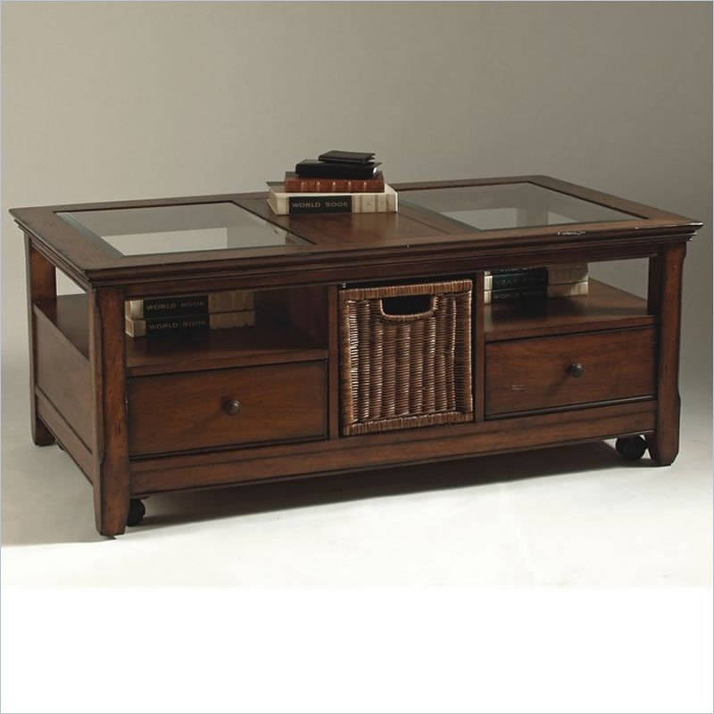 Remarkable Latest Cherry Wood Coffee Table Sets Throughout Coffee And End Table Sets (Image 43 of 50)