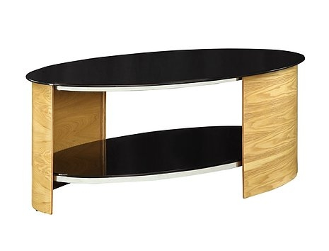 Remarkable Latest Curve Coffee Tables Within Jual Curve Oak Coffee Table Jf301 Oak Furniture Solutions (Image 39 of 50)