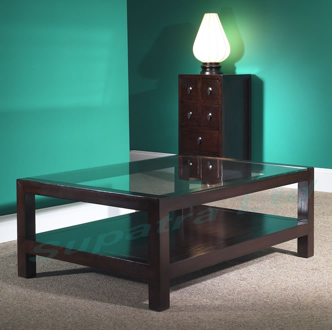 Remarkable Latest Dark Wood Coffee Tables With Glass Top Throughout Brilliant Dark Wood Coffee Table With Glass Top Also Interior Home (Image 38 of 50)